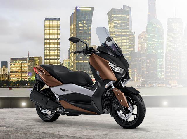 Yamaha XMAX warna ultimate branze