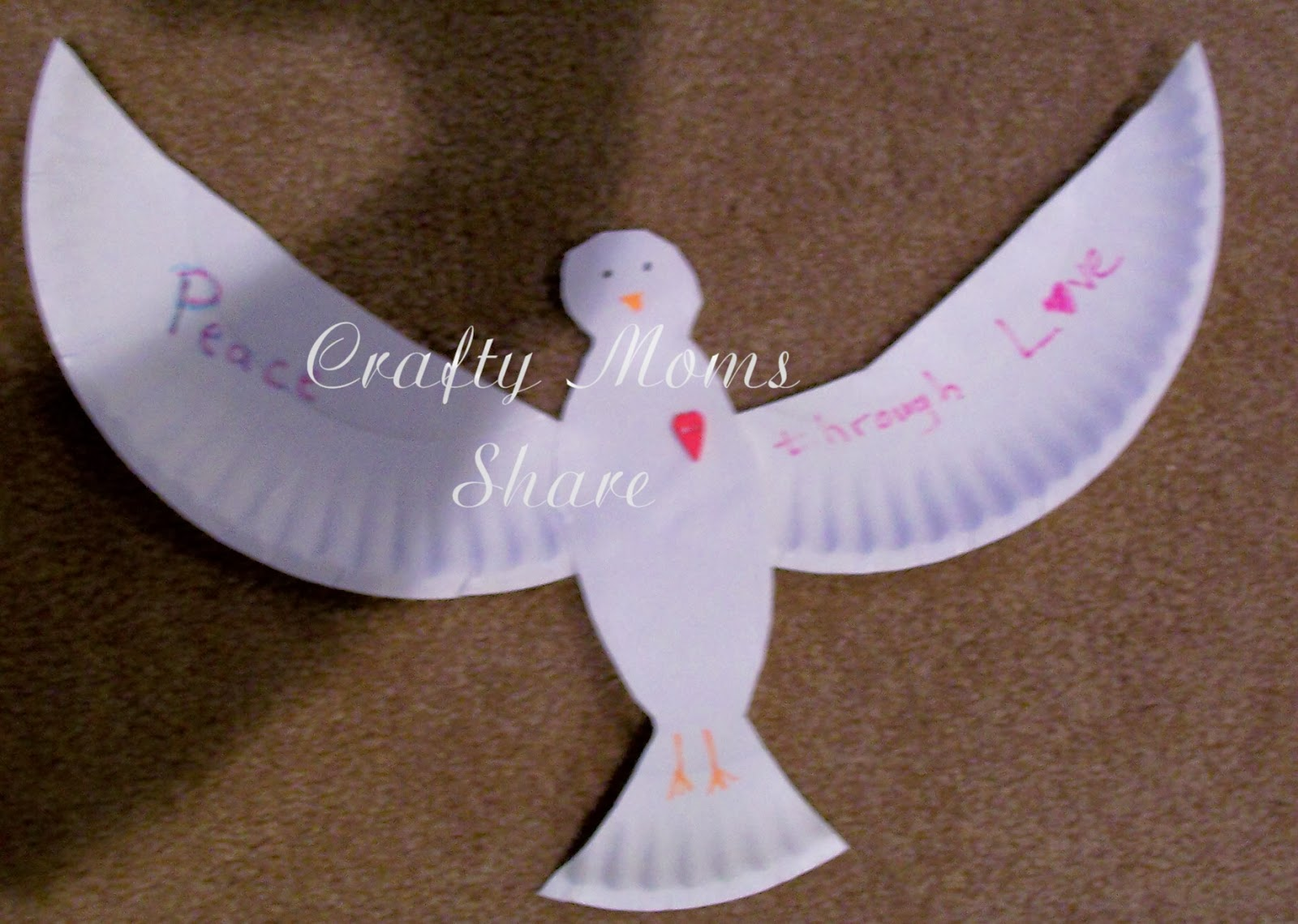 Crafty Moms Share Peace Through Love Teachings Of Dr