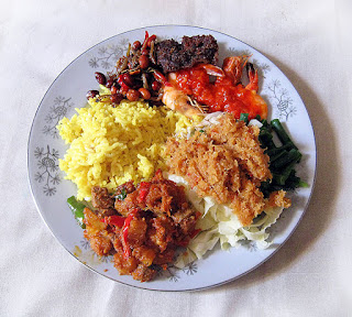 how to make nasi kuning