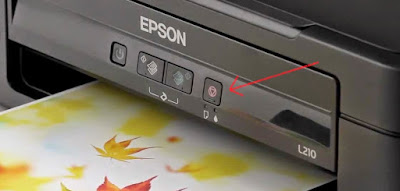 triangle inside a circle, to eliminate error in epson
