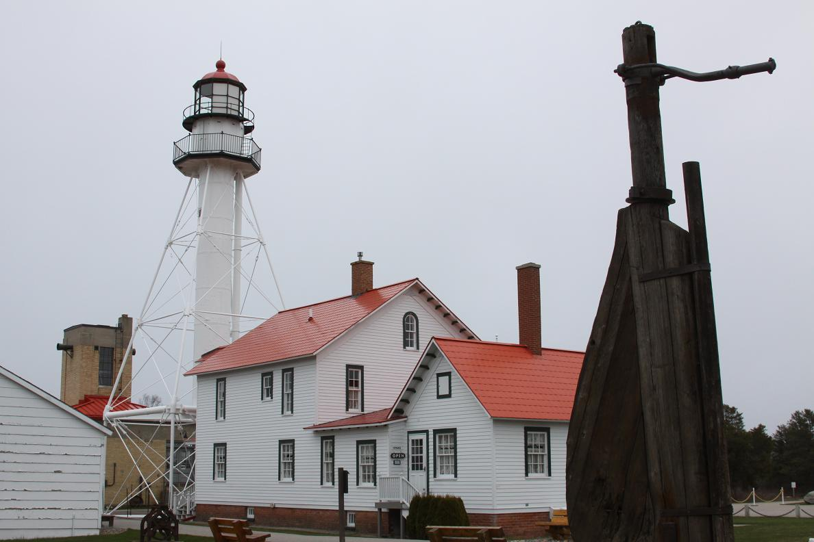 Michigan Exposures: Whitefish Point Lighthouse