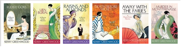 Kerry Greenwood's Miss Fisher Murde Mysteries