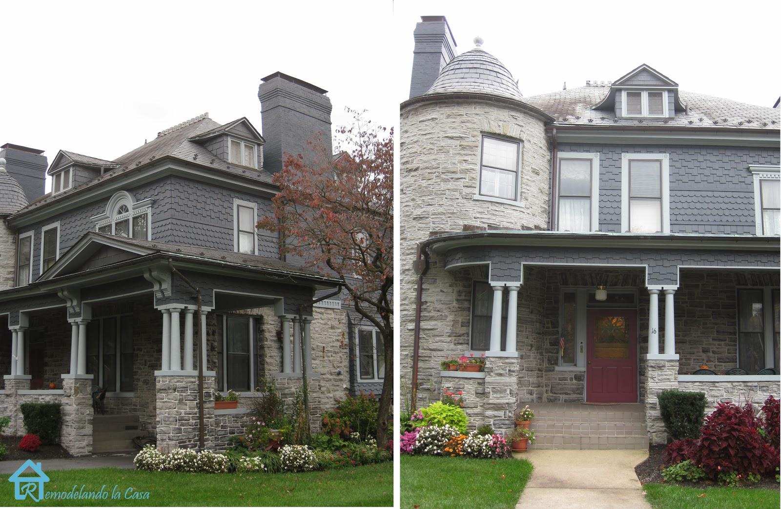 Charming victorian style row remodelando la casa for Fredrick house
