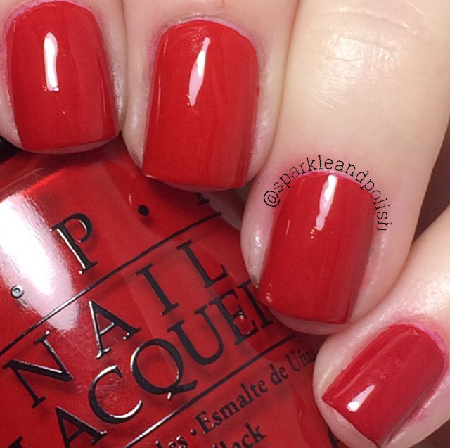A Little Sparkle And Polish: OPI Holiday 2016 Breakfast At