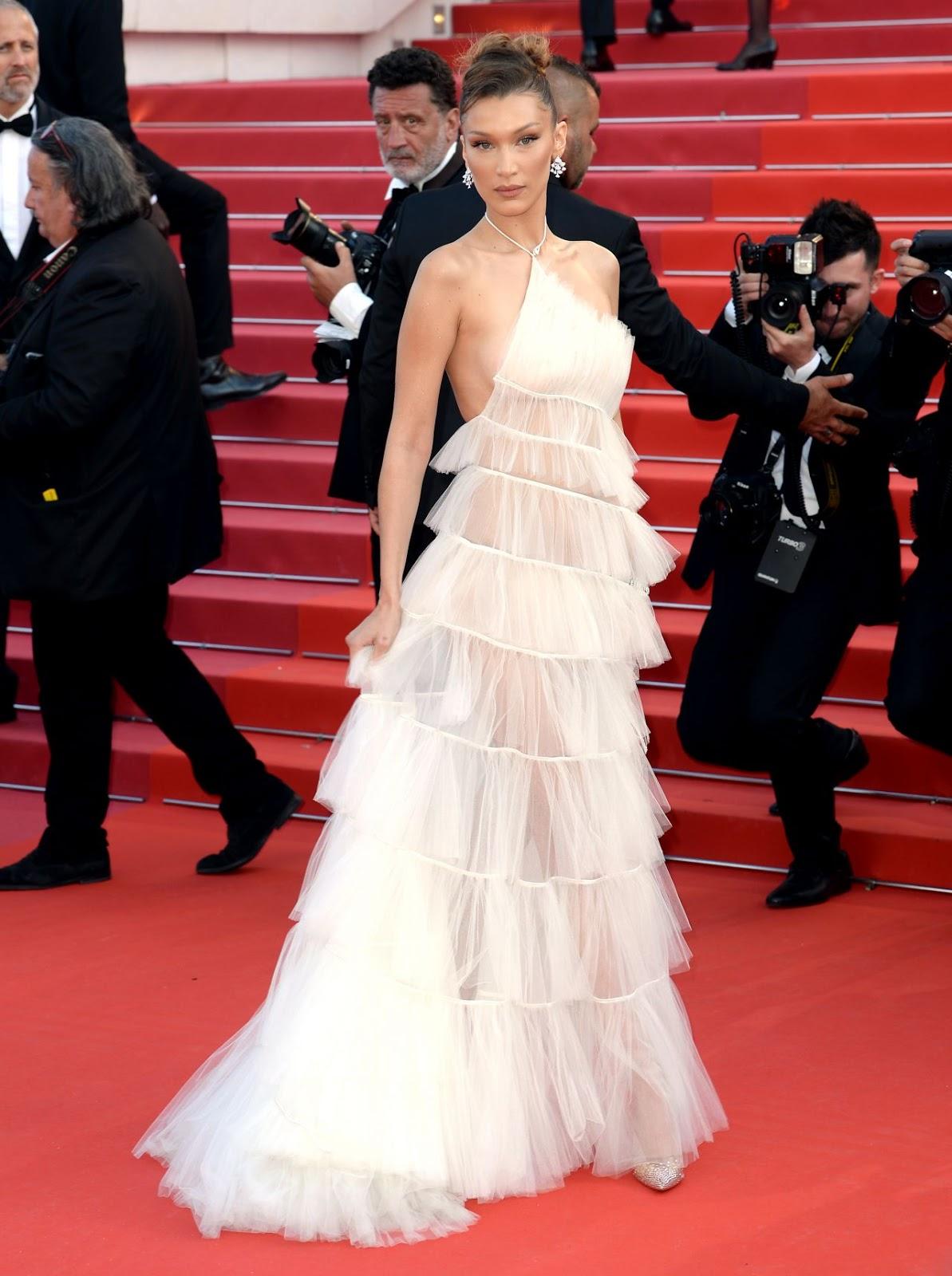 Bella Hadid – Rocketman Red Carpet at Cannes Film Festival