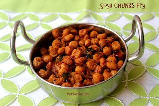 Soya Chunks fry