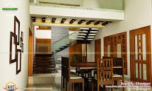 Kerala Home Design Staircase In