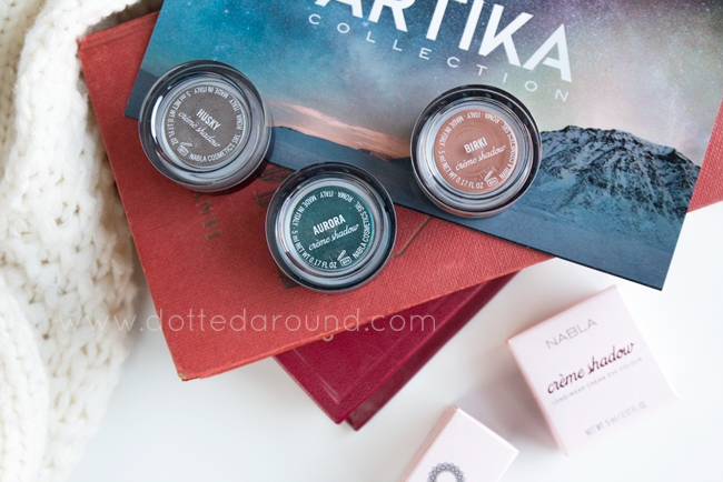 nabla creme shadow artika swatch