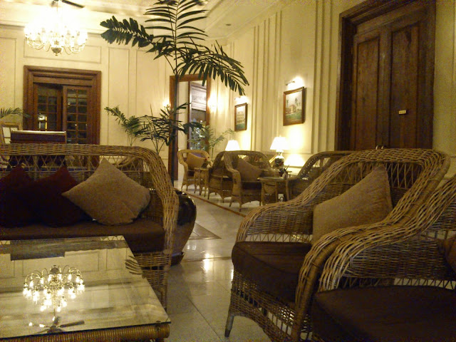 inside five star strand hotel Yangon, Burma