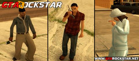 Real Peds (Pedestres Realista) para GTA San Andreas