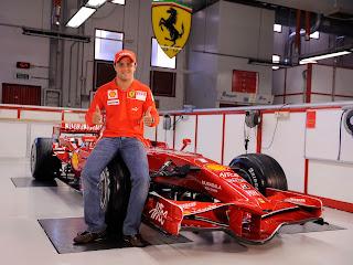 Ferrari Formula one driver Massa
