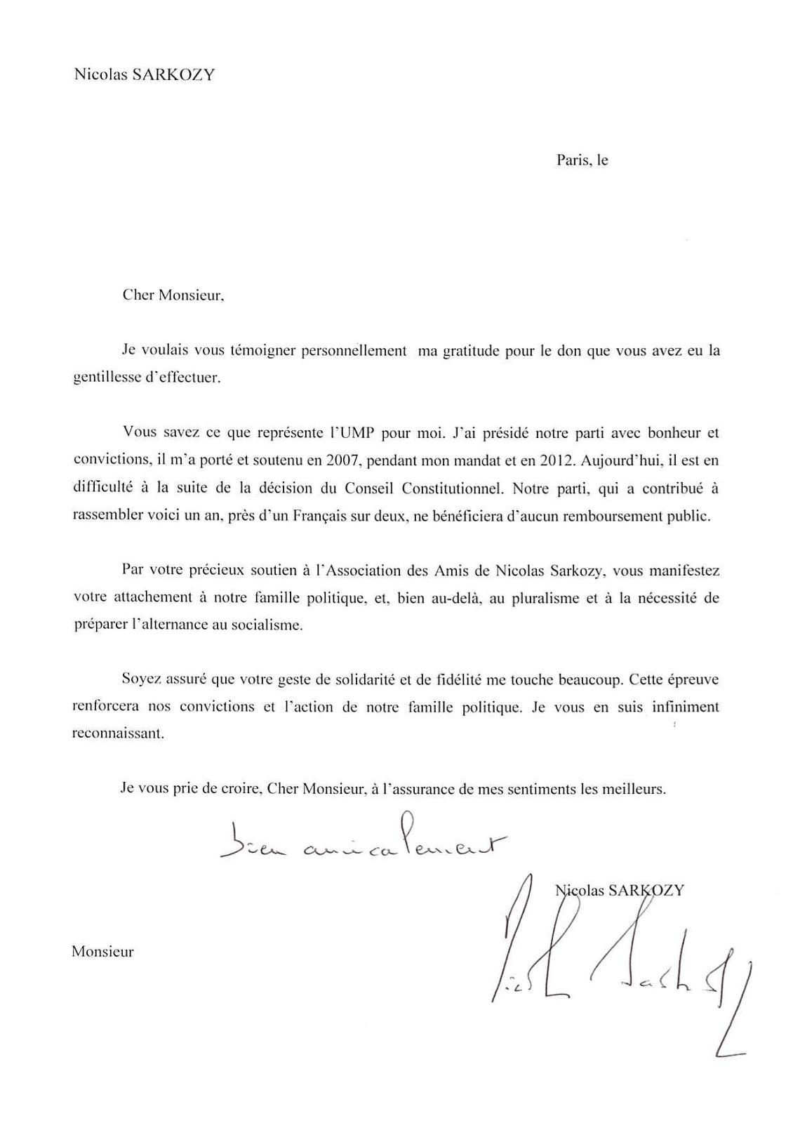 modele de lettre de don Exemple De Lettre De Remerciement Pour Des Lots | Covering Letter  modele de lettre de don