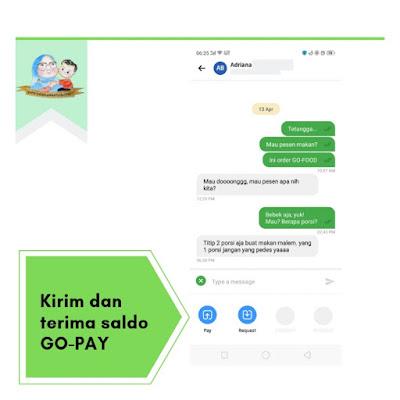 fitur baru chat ke sesama user gojek
