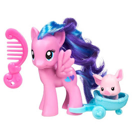 My Little Pony Single with DVD Flitterheart Brushable Pony