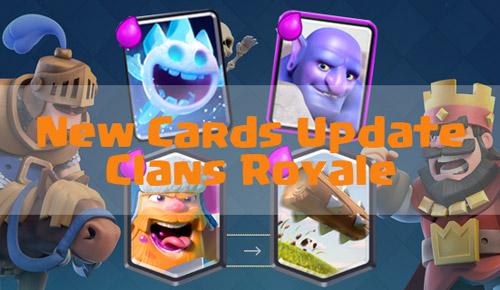 4 Kartu baru clash royale  update 4 juli 2016