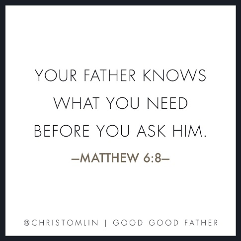 good good father scripture quote