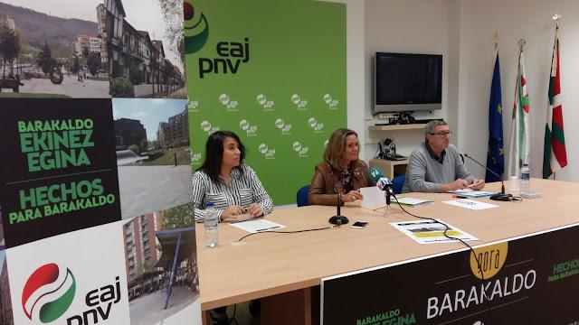 campaña Gora Barakaldo del PNV