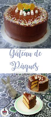 Glaçage au chocolat 2 ingrédients & gâteau à la vanille