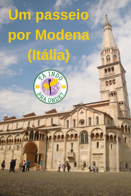 O que fazer em Modena? Roteiro para algumas horas na cidade da Ferrari