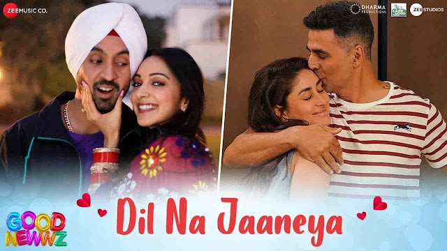 Dil Na Jaaneya Lyrics - Good Newwz | Rochak Kohli, Lauv, Akasa