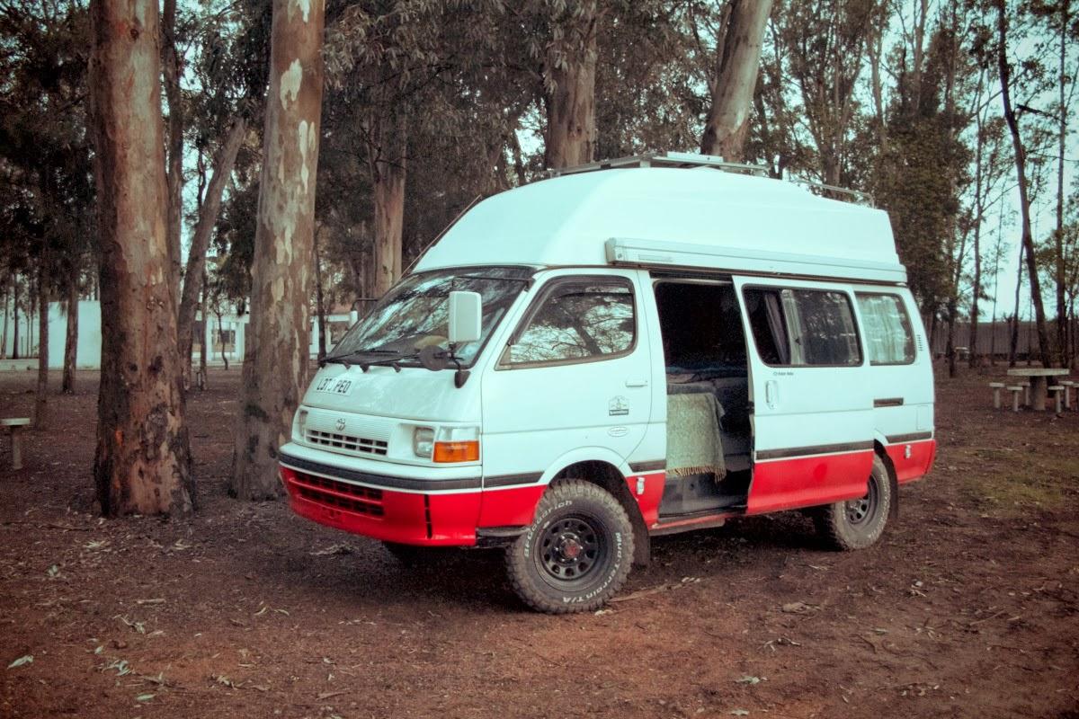 68efd88f08 Hiace Hobo - Living in a Toyota Camper Van  Lagos to Beja
