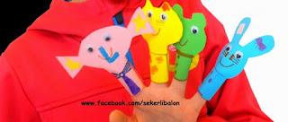 Aile katılımı - Harika parmak kukla çeşitleri