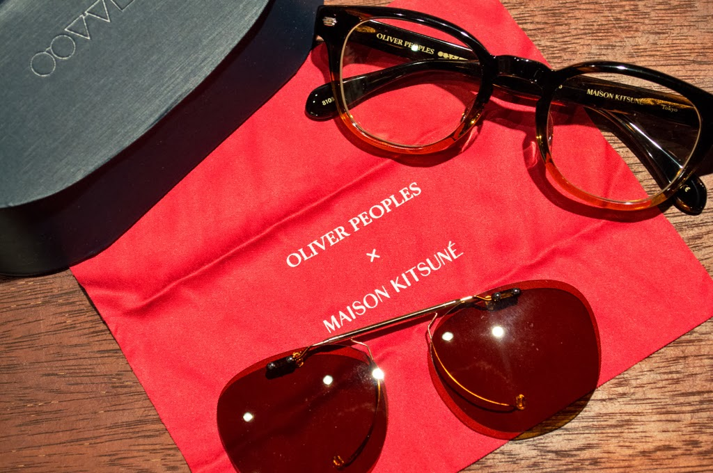 0981b009625b CROSSOVER: MAISON KITSUNE x OLIVER PEOPLES COLLECTION