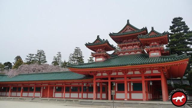 Heian jingû : reconstitution du palais de l'époque Heian Kyô