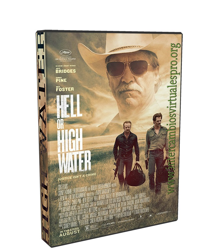 Hell or High Water poster box cover