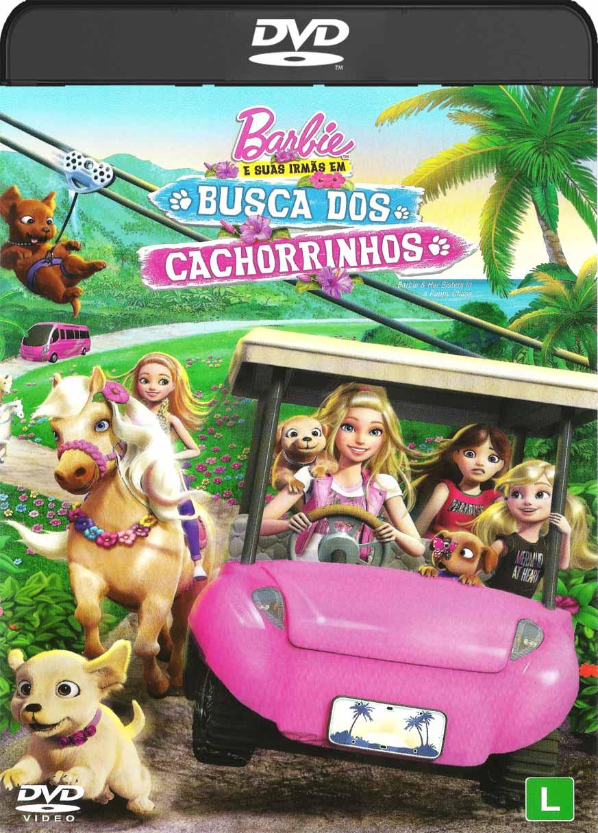 Barbie e as Suas Irmãs – Em Busca dos Cachorrinhos (2016) DVD-R Oficial
