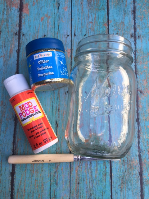 Mermade Moments Diy Glitter Mason Jars A Different Way