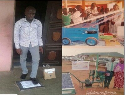 Talent In Display; See What An 18-Year-Old Student In Oyo State Developed