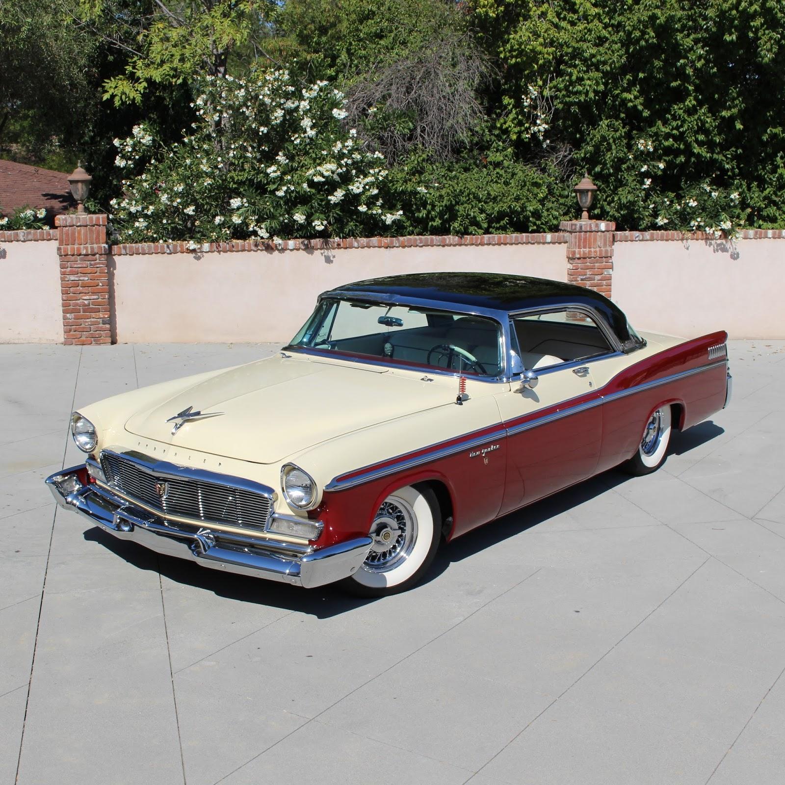Covering Classic Cars : 1956 Chrysler New Yorker St. Regis