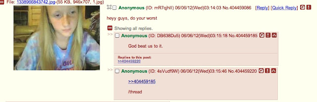 Hilarious greentext from 4chan burning a poor girl