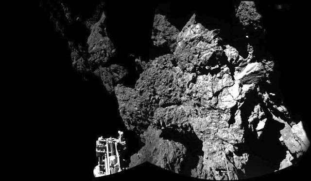 superfície do cometa 67P - Philae