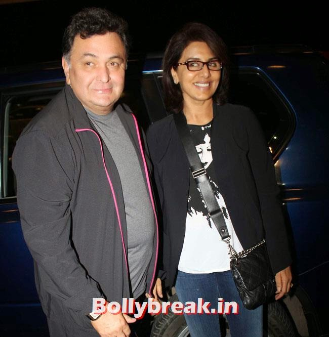 Rishi Kapoor and Neetu Singh, Parineeti Chopra, Sonam Kapoor & Other Celebs Set Out For IIFA 2014