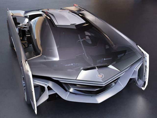 Super Futuristic Historical Design Of Cadillac