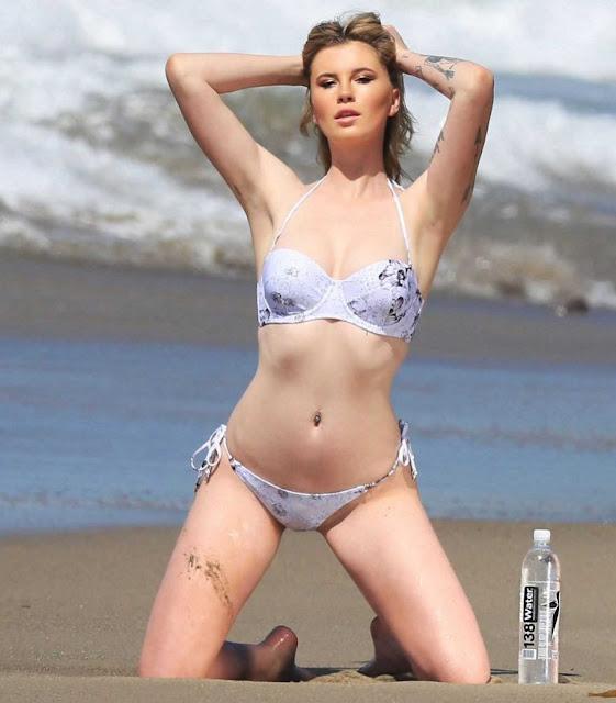 Ireland Baldwin kicks off bikini season as she flashes toned physique during surfside photo shoot