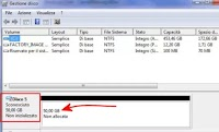 Inizializzare e formattare disco nuovo o non riconosciuto (Windows)
