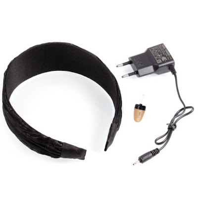 Bluetooth Hairband με Spy Ακουστικό(Στέκα Μαλλιών)