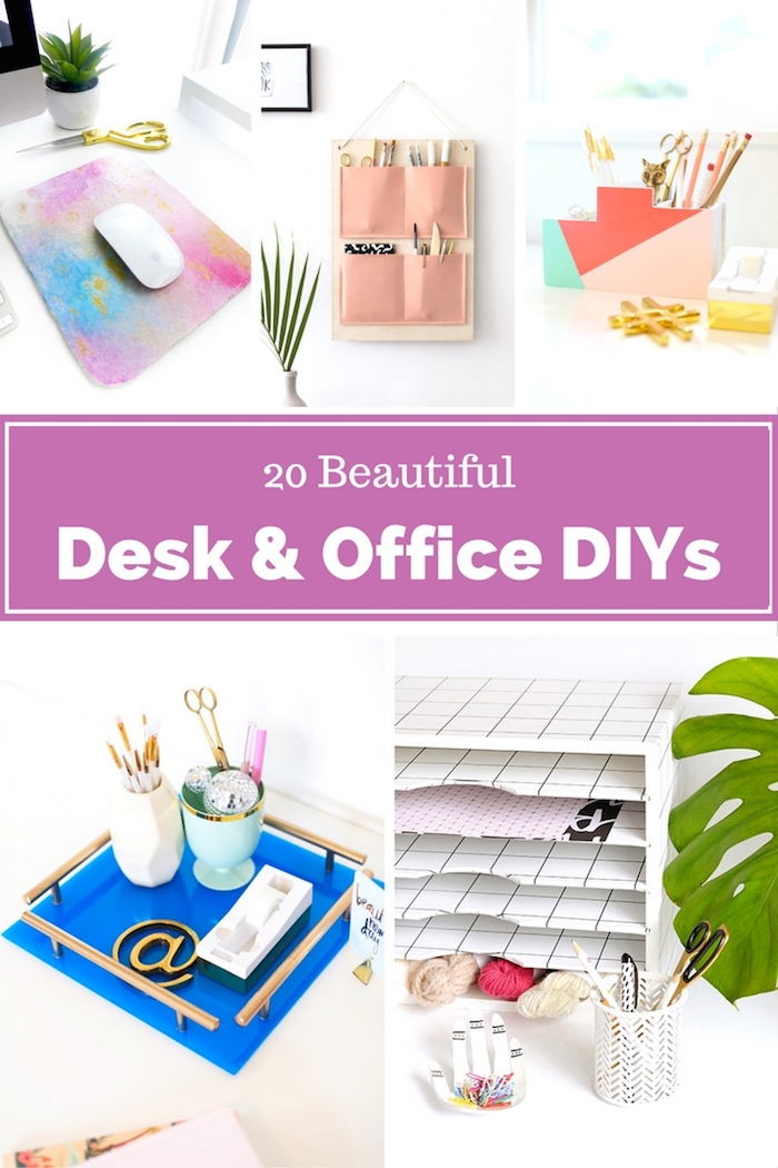 diy office projects. 20 beautiful desk and office projects diy diy