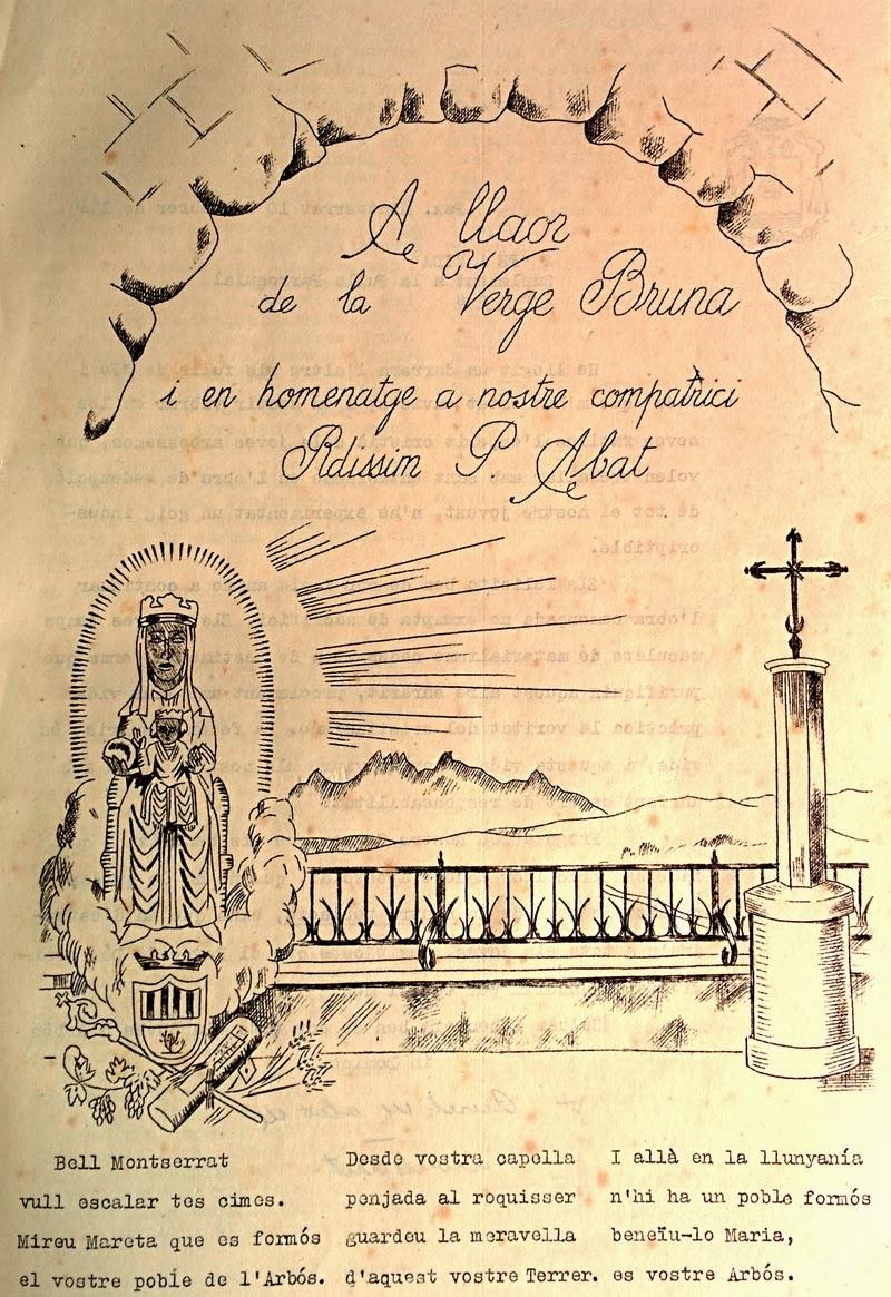Goigs i devocions populars el poble de l 39 arbo a la mare - El tiempo en l arboc ...