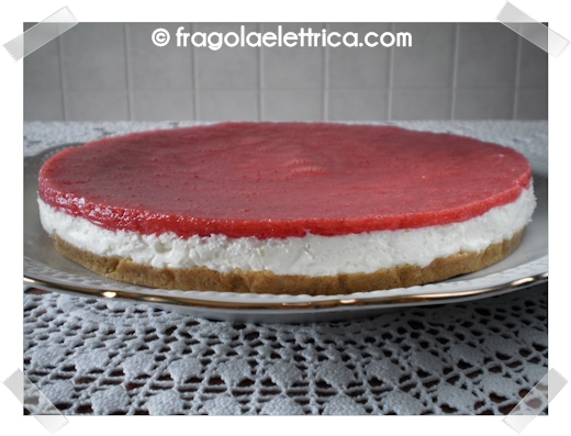 Cheesecake di Fragole Fresche