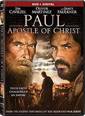 Movie - Paul, Apostle of Christ - Actors: James Faulkner, Olivier Martinez, Jim Caviezel - Sony Pictures