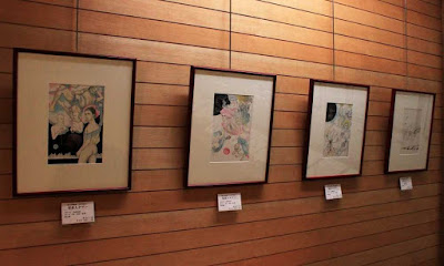 "Yoshimasa Murakami's illustrations for ""Yapoo, Human Cattle."" 2013 Exhibition at the Yayoi Museum, Japan. (Image: Japan Two) Numa Shozo"