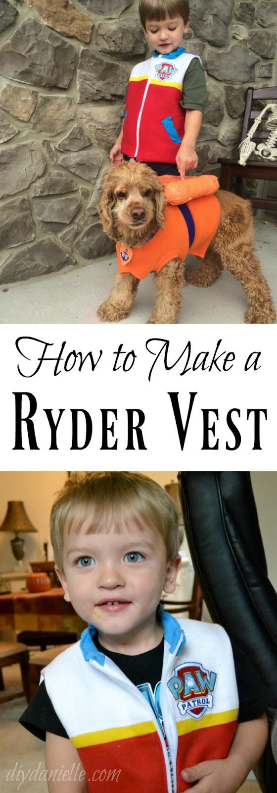 DIY Ryder Vest