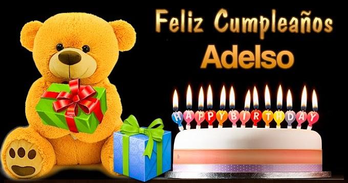 Feliz Cumpleaños Adelso