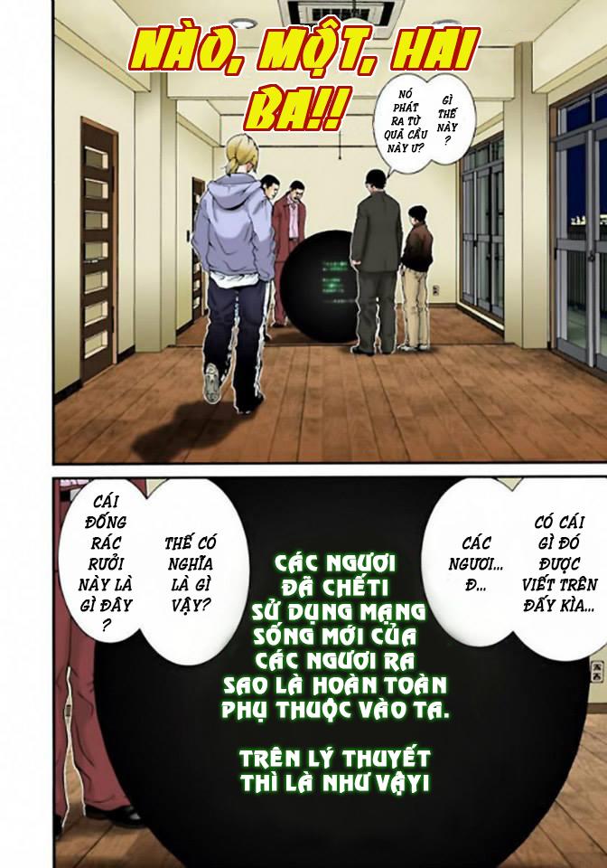 Gantz Chap 04: Mệnh lệnh của quả cầu đen trang 4
