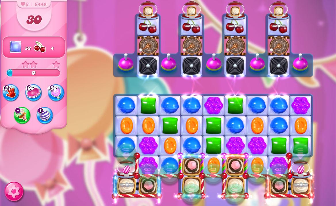 Candy Crush Saga level 5449