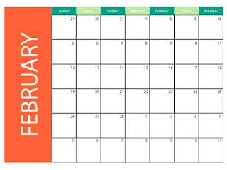 February 2017 monthly calendar for print.  printables 2 blank calendars for february 2017 - editable in eps and ai formats images with high qualities. download for free .